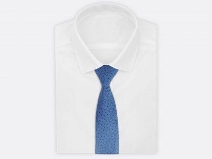 Mavi puantiyeli kravat modelleri