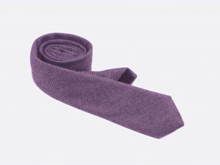 dokulu bordo yün kravat