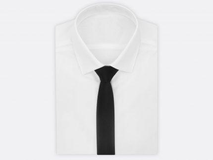 Düz Siyah Kravat