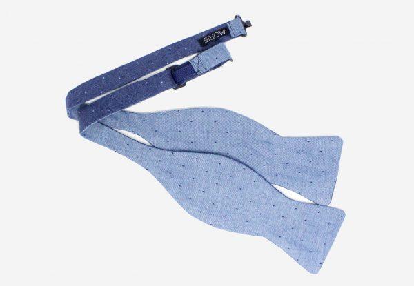 Puantiyeli Mavi Papyon