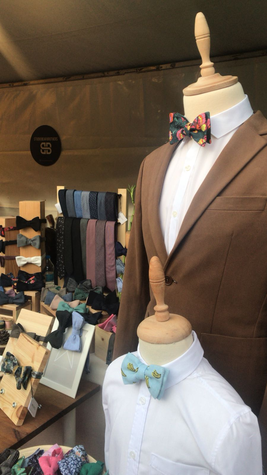 Morisstore ''Banana Tribe'' ayarlanabilir, pamuklu çocuk papyonu, papyon kravat modelleri