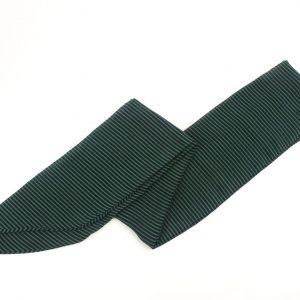 Çizgili Yeşil Fular Saç Bandı