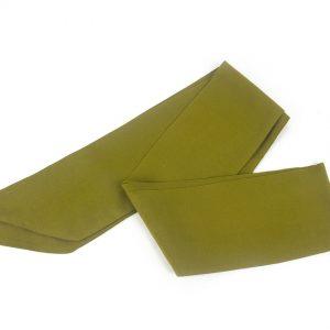 Yeşil Fular - Zeytin Yeşili Saç Bandı
